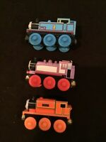Thomas & Friends Wooden Train Tank Engine - Rosie & Billy & Thomas lot of 3