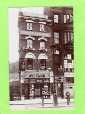 Wattam's Shop Temperance Hotel  Aldgate London unused RP pc