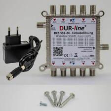 DUR-line DCS 551-24 - Einkabellösung Einkabel Multischalter für Quattro LNB NEU
