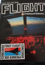 Flight International Magazine 1969 Concorde