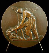 Médaille Mazamet l'échauffe travaille de la laine Tannage mégisserie 1951 Medal