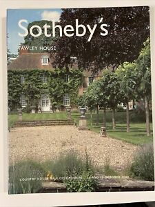 SOTHEBYS Auction Catalogue COUNTRY HOUSE SALE OXFORDSHIRE FAWLEY HOUSE 2003