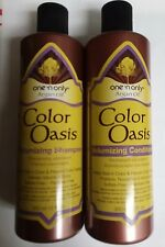 One 'N Only Argan Color Oasis Volumizing Shampoo& Conditioner 12oz- SULFATE FREE
