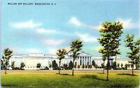 Mellon Art Gallery Washington DC Linen 1940s Postcard AW