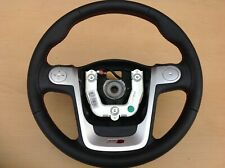 MG3 Mg 3 MULTIFUNCTION STEERING WHEEL WITH RED STITCHING NEW 2012-2018 300767127