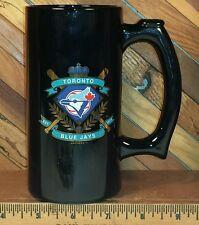 Toronto Blue Jays Baseball - 12oz Black Glass Beer Mug