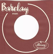 BARCLAY, FRENCH Reproduction Company Record Sleeves (5 pack ]