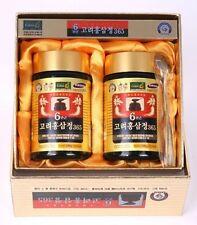 HongSamJeong 240g 8.5oz X 2ea Korean 6years Root Red Ginseng Gold Extract Saponi