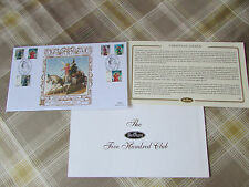 CHRISTMAS Angels 2007 Wing Buckinghamshire BENHAM Gold 500 Club FDC / Cover