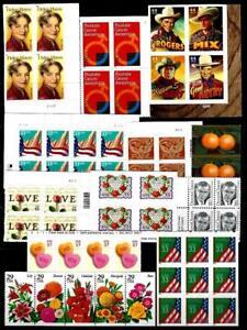 "1¢ WONDER'S ~ MNH COMMEMORATIVE BLOCKS ""ALL SHOWN"" (FV = $23.30) ~ T974"