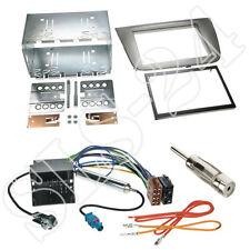 Seat Altea Toledo Doppel 2-DIN Blende anthrazit+Quadlock Adapter+Antenne Stecker