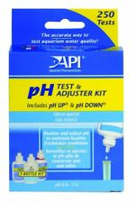 API pH Test and Adjuster Kit Freshwater Healthy Aquarium Condition 250 Tests