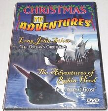 Christmas TV Adventures: Long John Silver/Robin Hood DVD Region 1, NTSC
