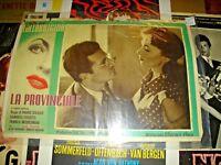 Die Provinz Fotobusta Kleine Original 1952 Gina Lollobrigida Mario Soldaten