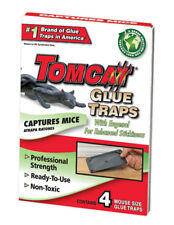 Tomcat  Small  Glue  Glue Board Insert  For Mice 4 pk
