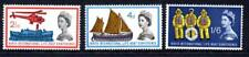 1963 GB INTERNATIONAL LIFEBOAT CONFERENCE SG 639-641 Ordinary Set Unmounted Mint