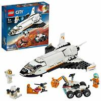 LEGO 60226 City Mars Research Shuttle Spaceship And Rover Building Toy Playset
