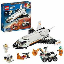 LEGO 60226 City Mars Research Shuttle Spaceship And Rover Construction Play Set