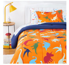 New Boy's Dinosaur Twin Size Comforter Set Sheets Bed in a Bag Kid's