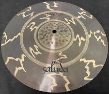 """New 15"""" Saluda T5 Prototype (Tesla) Crash Cymbal"""