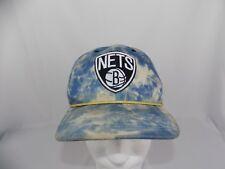 Mitchell & Ness Blue & White Tye Dye Brooklyn Nets Snapback NBA NY Hat Cap