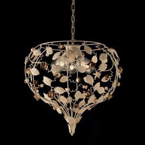 Chandelier iron beat hanging classico ivory gold bon-bl196-5-AV