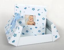 Baby Nursery Fotoalbum in Blau für 200 Fotos in 10x15 cm Kinder Fotobuch