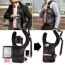 Unisex Underarm Holster Anti-Theft Shoulder Bag Hidden Card Case Wallet Phone