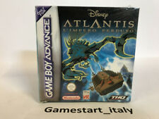 DISNEY ATLANTIS L'IMPERO PERDUTO - NINTENDO GAME BOY ADVANCE GBA - NUOVO ITA
