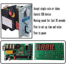 Hot KAI-738C CPU coin acceptor and CH-18A USB timer board KIT for control power