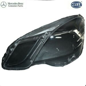 Mercedes W212 E350 E400 E500 E550 E63 AMG LEFT Headlamp Lens Cover OEM 09-12