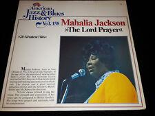 MAHALIA JACKSON the lord prayer Vinyl Schallplatte gewaschen