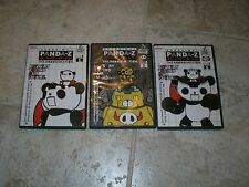 Panda-Z The Robonimation Volumes 1, 2, and 5 DVDs Anime Free Shipping!