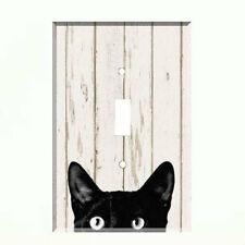 Black Cat Light Switch Plate Wall Cover Pet Decor Switch covers