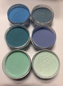 baby blue  coleccion acrilicos para uñas