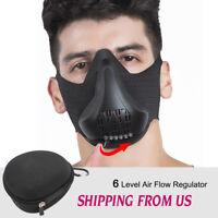 Workout Breathing Mask for Sport Running Biking Fitness Cardio Exercise