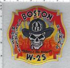 Boston Fire Department (Massachusetts) Water 25 Shoulder Patch