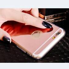 Luxury Ultra-thin Soft Silicone Mirror Back Case Cover For iPhone 6 6S 7 8 Plus