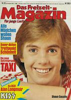 Das Freizeit-Magazin Nr.34 vom 1.8.1977 Shaun Cassidy, Suzi Quatro, Reinhard Mey