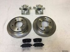 2xRear Brake Caliper, Discs &  Pads Dodge Caliber PM 2007-2012 262MM BRK/PM/004A