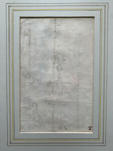 Stefano Della Bella - Design for a Monstrance - Original 17th Century Drawing