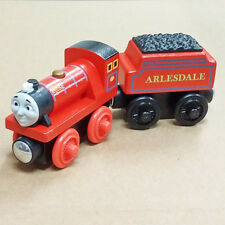 LOOSE LEARNING THOMAS & FRIENDS WOODEN MAGNETIC TRAIN- MIKE + TENDER