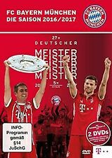 FC Bayern München - Die Saison 2016/2017 [2 DVDs] | DVD | Zustand gut