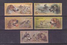 russia 1988 Sc 5667/71,set dog   MNH      d1880