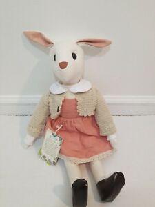 Republica alegria Handmade Bunny Rabbit Stuffed Plush Doll 22 inches
