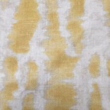 CLARENCE HOUSE EXCLUSIVE LINEN PRINT FABRIC  LE MARCHE/YELLOW  1.55 YARDS