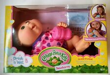 "New Cabbage Patch Kids 11"" Drink N' Wet Newborn"