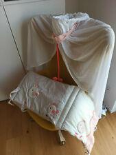 Himmel und Nestchen für Babybett