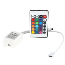24 Key IR Remote Controller Box DC 12V 6A for 3528 5050 SMD RGB LED Light Strip