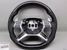 Mercedes G65 G63 AMG W463 ML63 GL550 GL63 W166 Flat Bottom CARBON Steering WHEEL